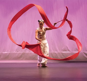 More Info for Ribbon Dance of Empowerment: Chinese Dance through the Eyes of an American