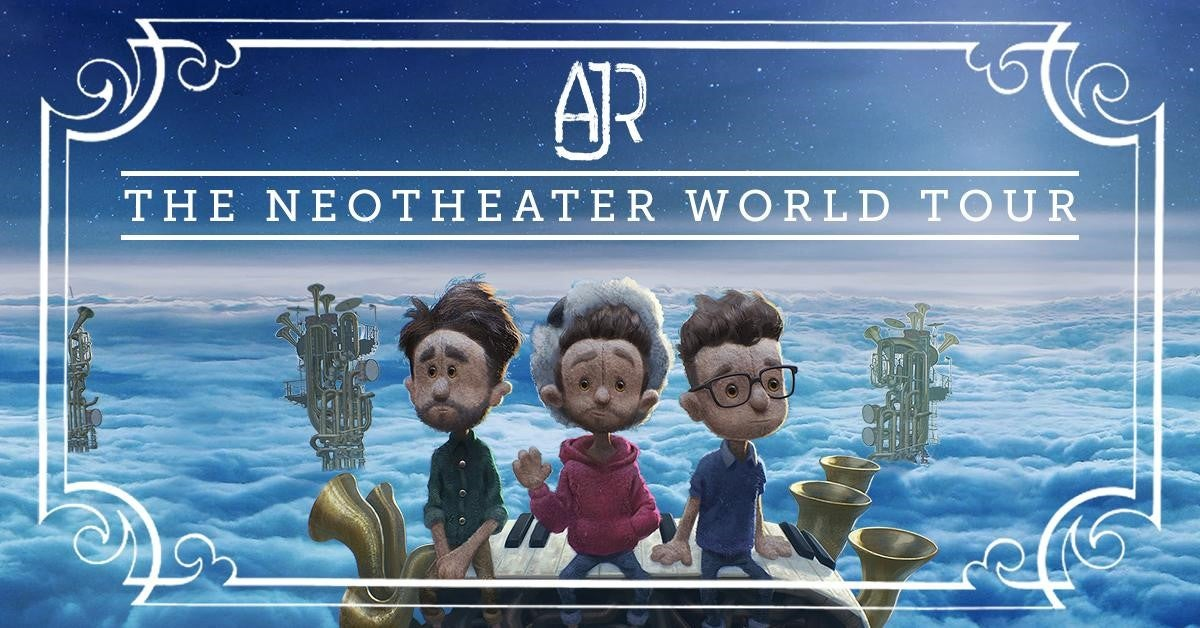 AJR's 'The Neotheater World Tour' kicks off in September