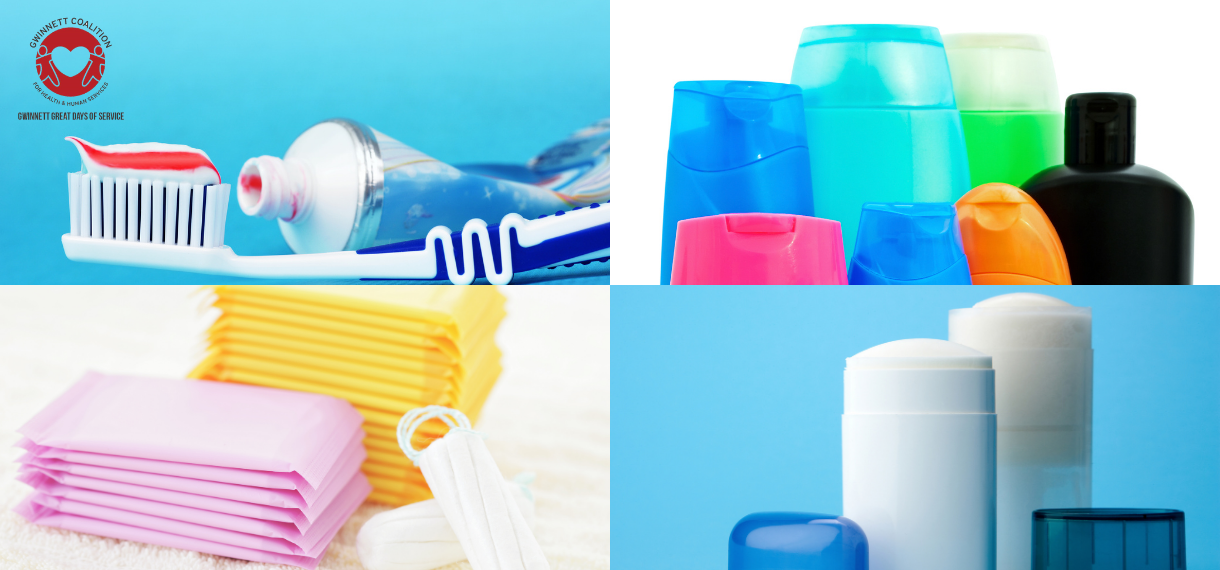 Gwinnett Great Days of Service Personal Care Items Drive