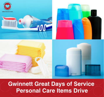 More Info for Gwinnett Great Days of Service Personal Care Items Drive