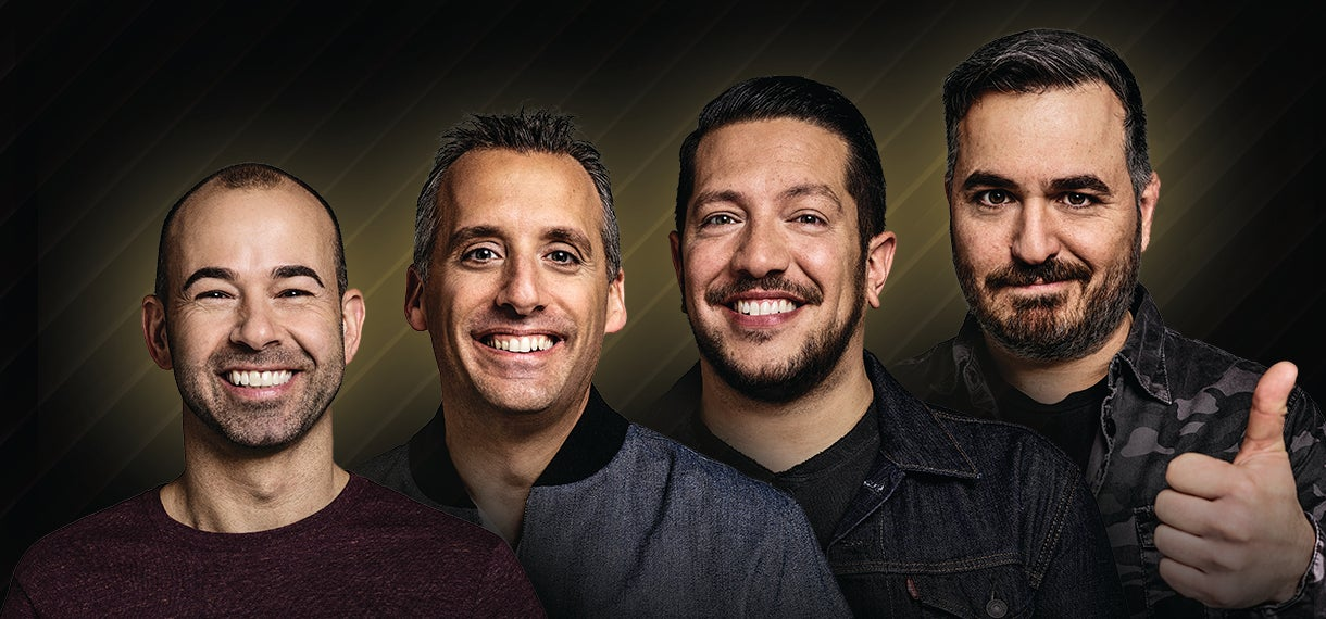 "truTV Impractical Jokers ""The Scoopski Potatoes Tour"" Starring The Tenderloins"