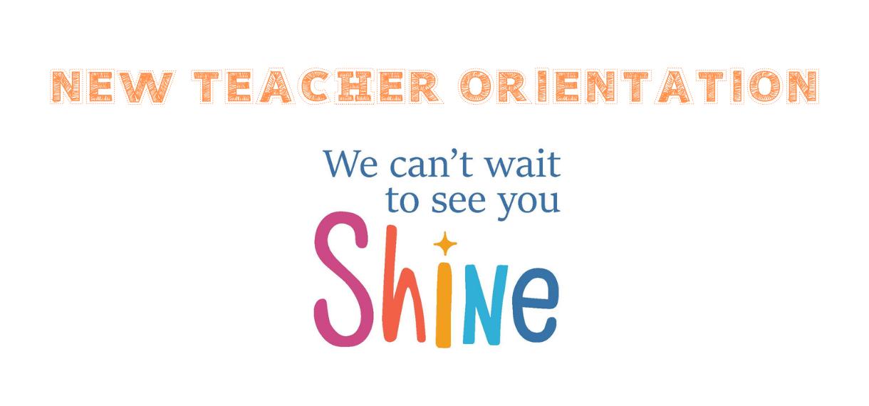 GCPS New Teacher Orientation