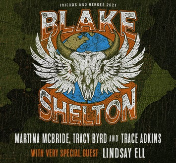 More Info for Blake Shelton: Friends and Heroes 2021